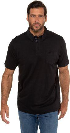 Duże rozmiary Koszulka polo z organicznej bawełny, mężczyzna, czarny, rozmiar XL, bawełna, JP1880 - Ceny i opinie T-shirty i koszulki męskie LIFJ