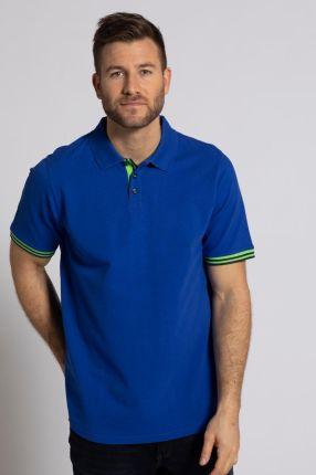 Duże rozmiary Koszulka polo, mężczyzna, niebieski, rozmiar XL, bawełna, JP1880 - Ceny i opinie T-shirty i koszulki męskie ZBHZ