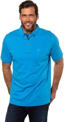 Duże rozmiary Koszulka polo z organicznej bawełny, mężczyzna, turkusowy, rozmiar 3XL, bawełna, JP1880 - Ceny i opinie T-shirty i koszulki męskie POIK