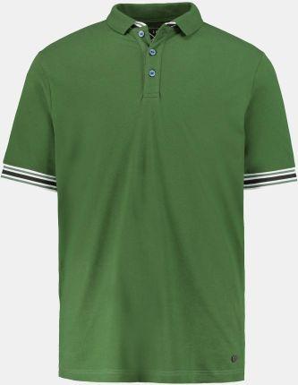 Duże rozmiary Koszulka polo, mężczyzna, zielony, rozmiar 5XL, bawełna, JP1880 - Ceny i opinie T-shirty i koszulki męskie CNSQ