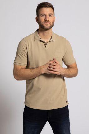 Duże rozmiary Koszulka polo, mężczyzna, brązowy, rozmiar 3XL, bawełna, JP1880 - Ceny i opinie T-shirty i koszulki męskie EFPQ