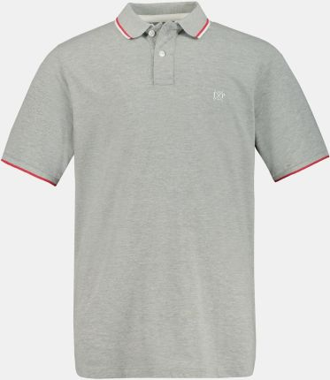 Duże rozmiary Koszulka polo FLEXNAMIC, mężczyzna, szaro, rozmiar XXL, bawełna, JP1880 - Ceny i opinie T-shirty i koszulki męskie HZLH