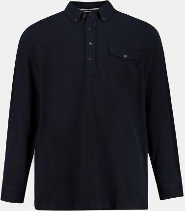 Duże rozmiary Koszulka polo, mężczyzna, niebieski, rozmiar L, bawełna, JP1880 - Ceny i opinie T-shirty i koszulki męskie QLAD