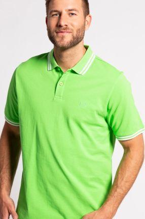 Duże rozmiary Koszulka polo, mężczyzna, zielony, rozmiar XXL, bawełna, JP1880 - Ceny i opinie T-shirty i koszulki męskie XUEP
