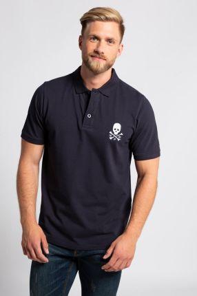 Duże rozmiary Koszulka polo, mężczyzna, niebieski, rozmiar 3XL, bawełna, JP1880 - Ceny i opinie T-shirty i koszulki męskie EPBT