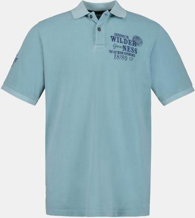 Duże rozmiary Koszulka polo, mężczyzna, niebieski, rozmiar 5XL, bawełna, JP1880 - Ceny i opinie T-shirty i koszulki męskie LHNP