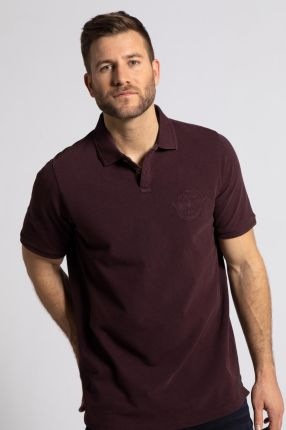 Duże rozmiary Koszulka polo, mężczyzna, brązowy, rozmiar XL, bawełna, JP1880 - Ceny i opinie T-shirty i koszulki męskie VQUQ