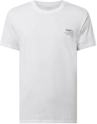 Guess T-Shirt Z O Kroju Regular Fit Z Logo - Ceny i opinie T-shirty i koszulki męskie MPVG