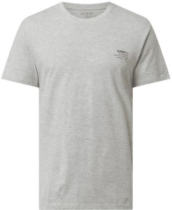 Guess T-Shirt Z O Kroju Regular Fit Z Logo - Ceny i opinie T-shirty i koszulki męskie XBZU