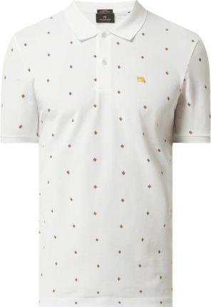 Scotch & Soda Koszulka Polo Z Bawełny Ekologicznej - Ceny i opinie T-shirty i koszulki męskie CIZT
