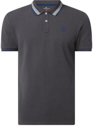 Tom Tailor Koszulka Polo Z Piki - Ceny i opinie T-shirty i koszulki męskie EHVQ