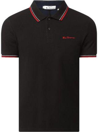Ben Sherman Koszulka Polo O Kroju Regular Fit Z Bawełny Ekologicznej - Ceny i opinie T-shirty i koszulki męskie PWGI