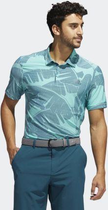 Adidas Vibes Print Polo Shirt GM0251 - Ceny i opinie T-shirty i koszulki męskie VHKP