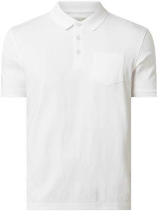 Koszulka polo z kieszenią na piersi - Ceny i opinie T-shirty i koszulki męskie DQTI