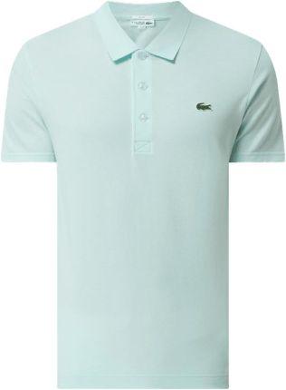 Lacoste Koszulka Polo O Kroju Slim Fit Z Bawełny - Ceny i opinie T-shirty i koszulki męskie VPOM
