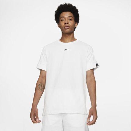 Nike Męski T-Shirt Sportswear - Biel - Ceny i opinie T-shirty i koszulki męskie HORS