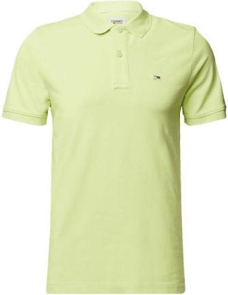 Tommy Jeans Koszulka Polo Z Mieszanki Bawełny - Ceny i opinie T-shirty i koszulki męskie HWEY