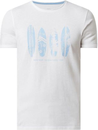 Montego T-Shirt Z Nadrukiem - Ceny i opinie T-shirty i koszulki męskie AHFB