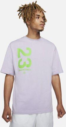 Jordan Męski T-Shirt Z KrÓtkim Rękawem 23 Engineered - Fiolet - Ceny i opinie T-shirty i koszulki męskie XANK