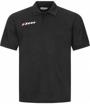 Zeus Basic Mężczyźni Koszulka Polo Czarny - Ceny i opinie T-shirty i koszulki męskie UQLF