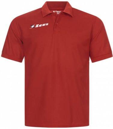 Zeus Basic Mężczyźni Koszulka Polo Czerwony - Ceny i opinie T-shirty i koszulki męskie LOWX