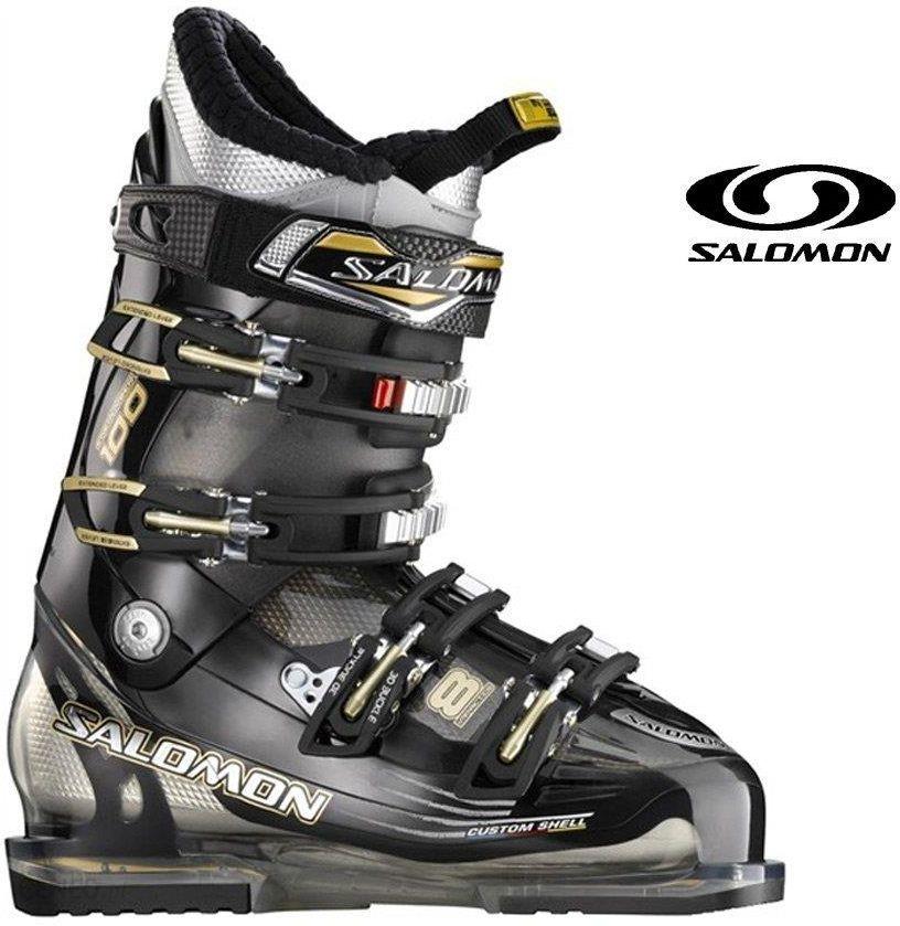 Buty narciarskie Salomon IMPACT 8 CS czerwone