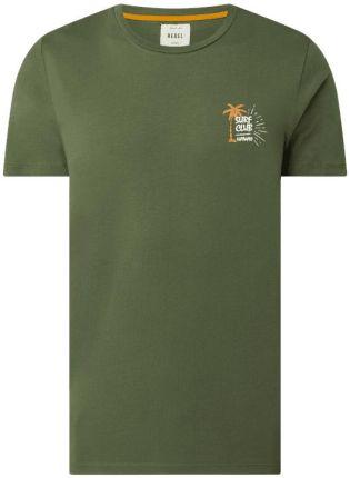 Redefined Rebel T-Shirt Z Bawełny Ekologicznej Model 'Ryder' - Ceny i opinie T-shirty i koszulki męskie IRVR