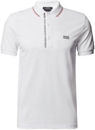 Boss Athleisurewear Koszulka Polo O Kroju Slim Fit Z Wyhaftowanym Logo - Ceny i opinie T-shirty i koszulki męskie NSWO