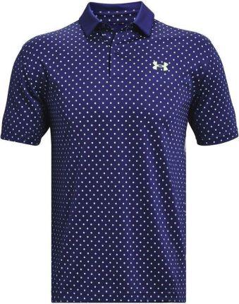 Under Armour Ua Performance Printed Mens Polo Shirt Regal S - Ceny i opinie T-shirty i koszulki męskie UYUS
