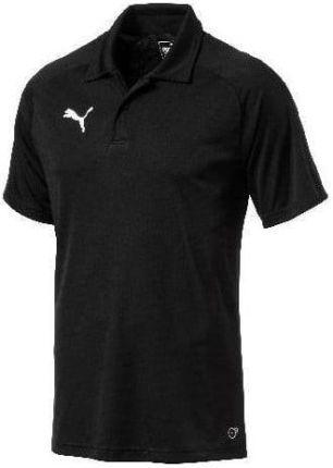 Puma Koszulka Polo Męska Teamsport Liga Sideline Czarna 65560803 - Ceny i opinie T-shirty i koszulki męskie DYZB