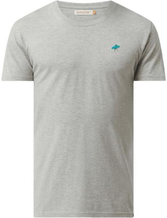 Rvlt/Revolution T-Shirt O Kroju Regular Fit Z Nadrukiem - Ceny i opinie T-shirty i koszulki męskie NNCP
