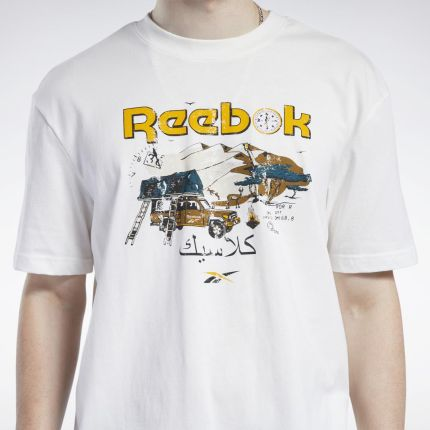 Reebok Koszulka Classics International BF622 - Ceny i opinie T-shirty i koszulki męskie EAYR