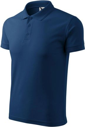 Koszulka Pique Polo 203 męska T shirt Bawełna 3XL - Ceny i opinie T-shirty i koszulki męskie JAUA