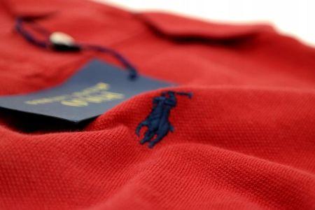 Polo Ralph Lauren T Shirt Polo męski czerwony S - Ceny i opinie T-shirty i koszulki męskie OOYU