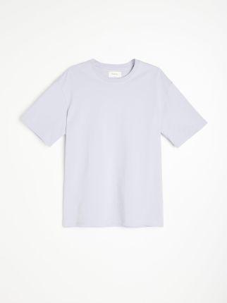 Reserved Bawełniany T shirt Fioletowy - Ceny i opinie T-shirty i koszulki męskie VMHY