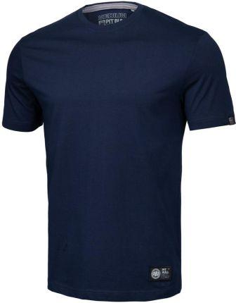 Koszulka Pit Bull No Logo 2020 - Granatowa - Ceny i opinie T-shirty i koszulki męskie NLXC