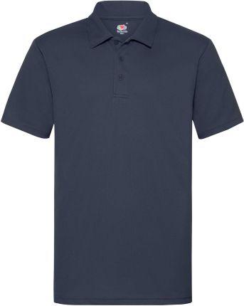 Koszulka męska Polo Performance Fruit of the Loom - Ciemnogranatowy - Ceny i opinie T-shirty i koszulki męskie RHST