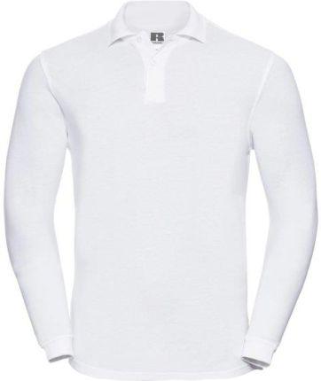 Koszulka męska Polo z długim rękawem Russell - Ceny i opinie T-shirty i koszulki męskie VTMX