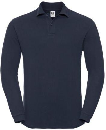 Koszulka męska Polo z długim rękawem Russell - Ceny i opinie T-shirty i koszulki męskie OONO