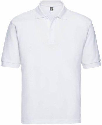 Koszulka męska Polo z polibawełny Russell - Ceny i opinie T-shirty i koszulki męskie RWPL