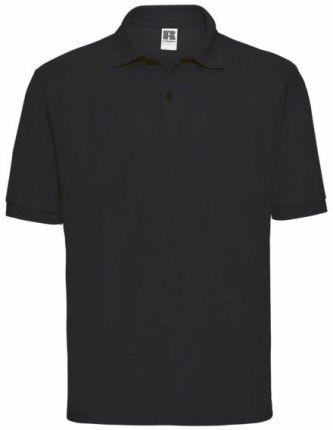 Koszulka męska Polo z polibawełny Russell - Ceny i opinie T-shirty i koszulki męskie ALJR