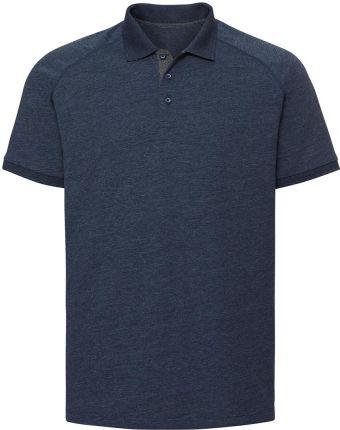 Koszulka męska Raglan Polo Russell - Ceny i opinie T-shirty i koszulki męskie OWIK