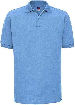 Koszulka męska polo z polibawełny Russell - Ceny i opinie T-shirty i koszulki męskie YHLO