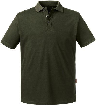 Koszulka męska polo Pure Organic Russell - Ceny i opinie T-shirty i koszulki męskie WUMA