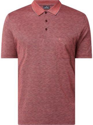 Koszulka polo z efektem melanżu - Ceny i opinie T-shirty i koszulki męskie RZWQ