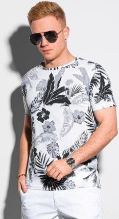 T shirt męski z nadrukiem S1297 czarny S - Ceny i opinie T-shirty i koszulki męskie DVEE