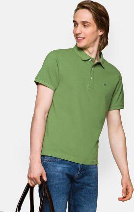 Koszulka Zielona Polo Patrick - Ceny i opinie T-shirty i koszulki męskie BIQD