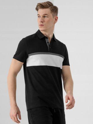 Koszulka Polo Męska 4F TSM318 D4L21 - Ceny i opinie T-shirty i koszulki męskie PODY