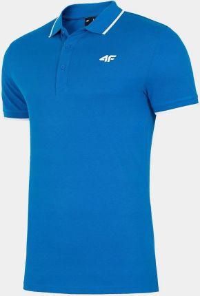 Koszulka Polo 4F Męska PolÓwka Bawełniana XXL - Ceny i opinie T-shirty i koszulki męskie KJDC