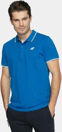 Koszulka Polo 4F Męska PolÓwka Bawełniana L - Ceny i opinie T-shirty i koszulki męskie WWBA